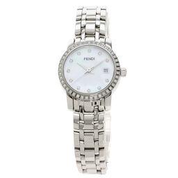 Fendi 2100L Classico 11P Diamond Watch Ladies