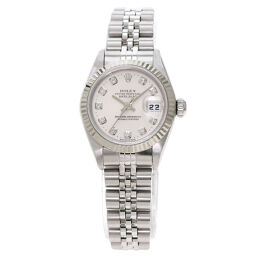 Rolex 69174G Datejust 10P Diamond Watch OH already Ladies