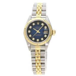 Rolex 79173G Datejust 10P Diamond Watch OH already Ladies