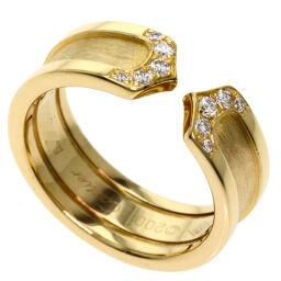 カルティエ C2 ダイヤモンド #49 リング・指輪レディース