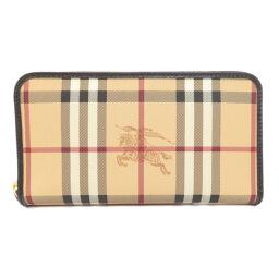 Burberry Nova Check logo long wallet (with coin purse) Ladies