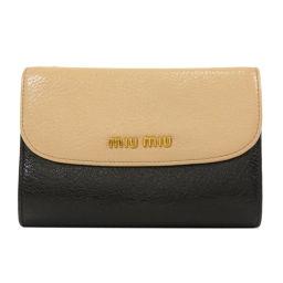 Miu Miu徽标双折钱包(带零钱包)女士