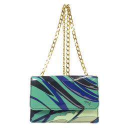 Emilio Pucci Chain Shoulder Shoulder Bag Ladies