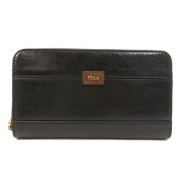 Chloe logo long wallet (with coin purse) Ladies