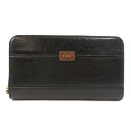 クロエ ロゴ 長財布(小銭入れあり)レディース