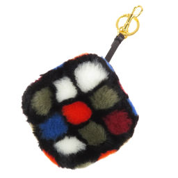Anya Hind March Rubik's Cube Motif Keychain Ladies