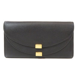 Chloe logo embossed long wallet (with coin purse) Ladies
