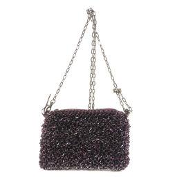 Ante Prima Wire Chain Sequin Shoulder Bag Ladies