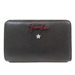 Jimmy Choo Logo Logotype Bi-fold wallet (with coin purse) Ladies