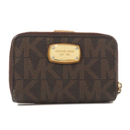 Michael Kors logo with coin case key case ladies
