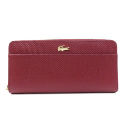 Lacoste logo long wallet (with coin purse) Ladies