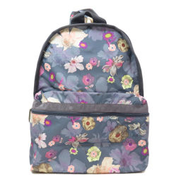 LeSportsac Flower Print Backpack Daypack Ladies