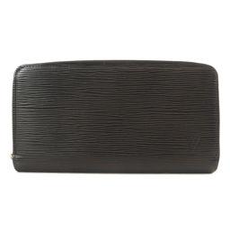 ルイヴィトン M60072 ジッピー ウォレット 旧 エピ ノワール 長財布(小銭入れあり)メンズ