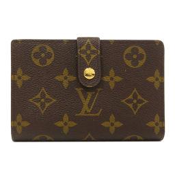 路易威登M61674 Porte Fauille Vienova Monogram双向钱包(带零钱包)女士