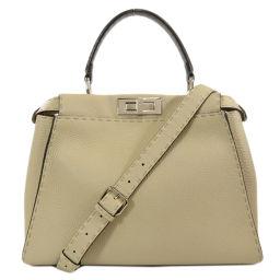 Fendi Peekaboo Seleria Tote Bag Ladies