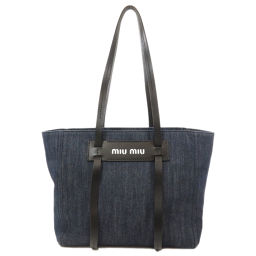 Miu Miu logo motif tote bag ladies