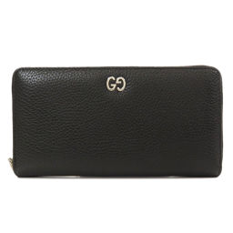 Gucci 473928 logo round zipper long wallet (with coin purse) unisex