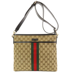 Gucci 388926 GG Shelly Line Shoulder Bag Women