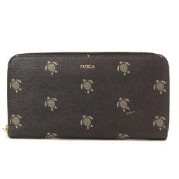 フルラ 亀 長財布(小銭入れあり)レディース