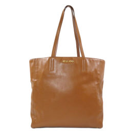 Miu Miu Logo Logotype Tote Bag Ladies