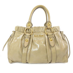Miu Miu Logo Logotype 2way Handbag Ladies