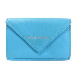 バレンシアガ 391446 三つ折り財布 ペーパーミニウォレット 二つ折り財布(小銭入れあり)レディース