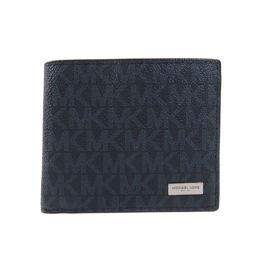 マイケルコース ロゴパターン 二つ折り財布(小銭入れあり)メンズ
