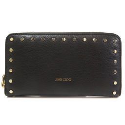 Jimmy Choo Studs Long Purse (with coin purse) Ladies