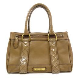 Burberry logo handbag ladies