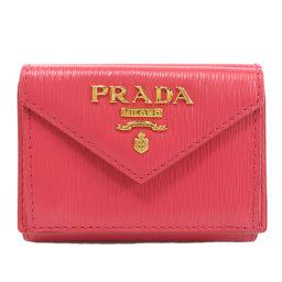 プラダ 1MH021 ヴィッテロ ムーヴ 三つ折り 二つ折り財布(小銭入れあり)レディース