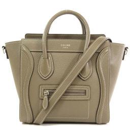 Celine Luggage Nano 2WAY Handbags Ladies