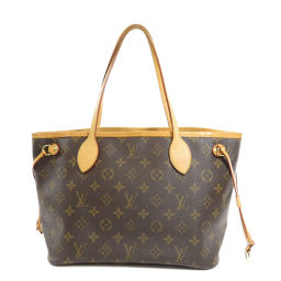 Louis Vuitton M40155 Neverfull PM Old Monogram Tote Bag Ladies