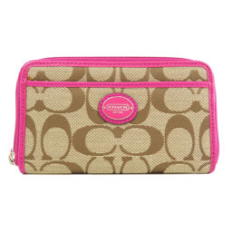 Coach Signature Coin Case Women