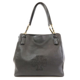 Tory Burch Logo Engraved Tote Bag Ladies