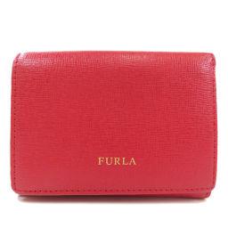 フルラ 三つ折り財布 ロゴタイプ 二つ折り財布(小銭入れあり)レディース