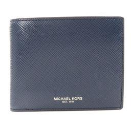 マイケルコース ロゴモチーフ 二つ折り財布(小銭入れあり)メンズ