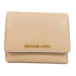 マイケルコース ロゴ 二つ折り財布(小銭入れあり)レディース