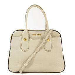 Miu Miu RL0071 2WAY Handbags Ladies