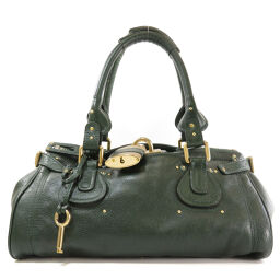 Chloe Logo Hardware Handbag Ladies