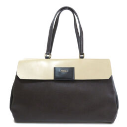 Furla logo motif tote bag ladies