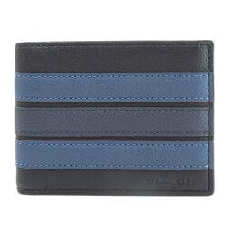 コーチ ロゴ 二つ折り財布(小銭入れなし)レディース