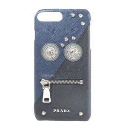 プラダ ロボット iPhone7+ 8+ サフィアーノ iPhoneケースユニセックス