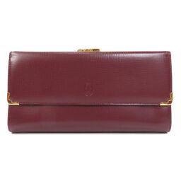 カルティエ マストライン がま口 長財布(小銭入れあり)レディース
