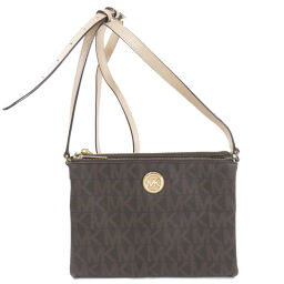Michael Kors Logo Design Shoulder Bag Women