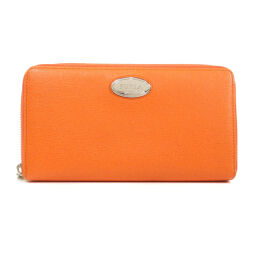 Furla logo plate long wallet (with coin purse) women