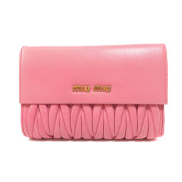 Miu Miu logo bi-fold wallet (with coin purse) Ladies