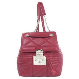 Furura logo motif backpack daypack ladies