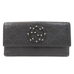 グッチ 231843 GG シマ インターロッキングG 長財布(小銭入れあり)レディース