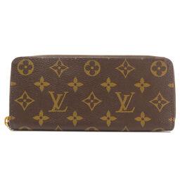 ルイヴィトン M68314 ポルトフォイユ・クレマンス モノグラム フラワー 長財布(小銭入れあり)レディース