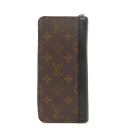 ルイヴィトン M60109 ジッピー・ウォレットヴェルティカル モノグラムマカサー 長財布(小銭入れあり)メンズ